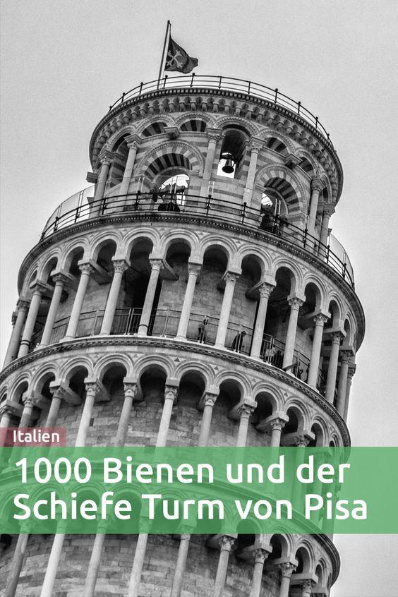 Endlich stehe ich am Schiefen Turm von Pisa ... doch was ist das? Ein Summen ... es wird lauter und lauter und plötzlich sind überall Bienen!