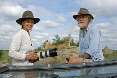 Dereck and Beverly Joubert are award-winning filmmakers from Botswana