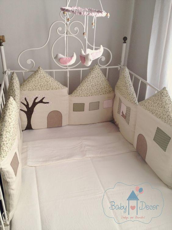 Baby Decor - Design per bambini, Torte di pannolini e Party planning: Anteprime negozio I parte : il Paracolpi con le casette