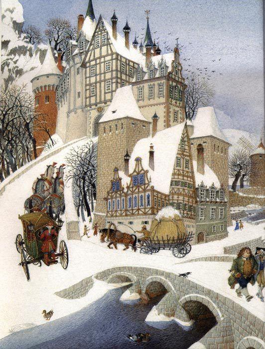 How a snowy winter felt to my young girl imagination | http://www.li-an.fr/blog/wp-content/uploads/2009/01/31164124_sp10.jpg