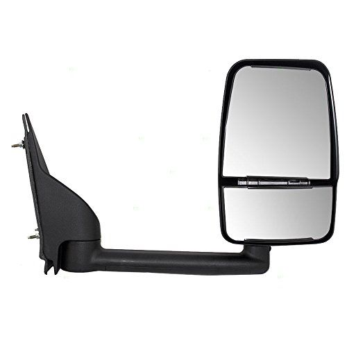 Passengers Manual Side View Paddle Type Dual Glass Mirror Replacement For Chevrolet Gmc Van 25894030 Want Additional Glass Mirror Mirror Mirror Replacement
