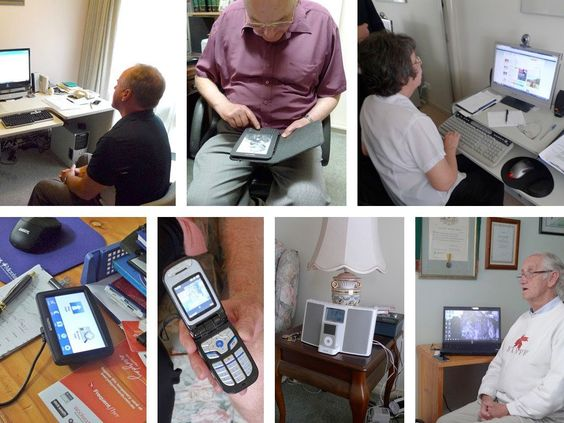 Designing For The Elderly: Ways Older People Use Digital Technology Differently - Examples of technology used by the elderly