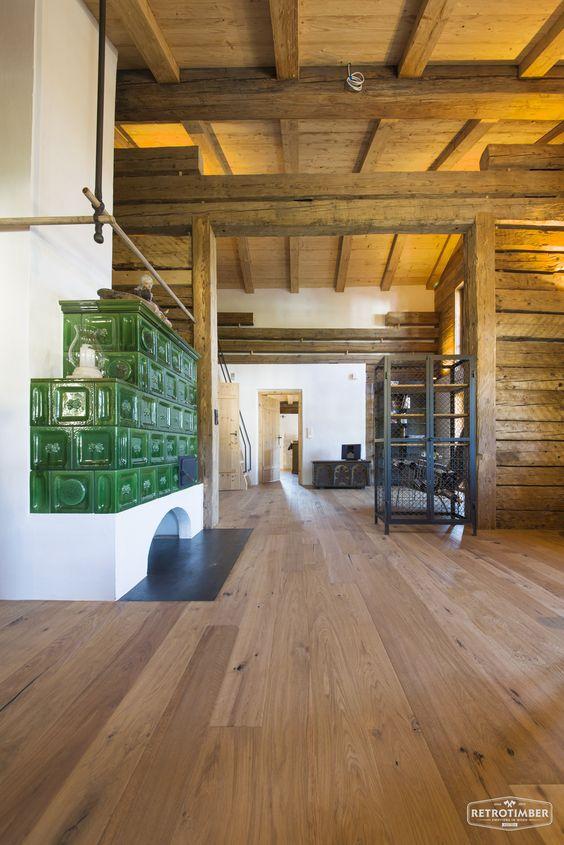 retrotimber | altholz, balken, hausbau, bau, fichte, lärche ... - Wohnzimmer Ideen Alt