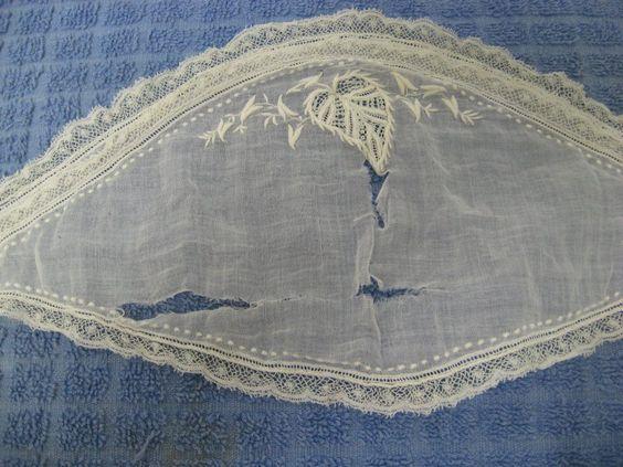 Rachel Sheen's original Fanchon - ayshire embroidery