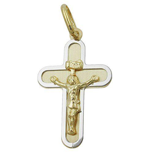 Anhänger, Kreuz mit Jesus, 9Kt GOLD Dreambase http://www.amazon.de/dp/B00L59RL4I/?m=A37R2BYHN7XPNV