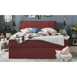 Boxspringbett Boxi Rot Masse Cm B 160 H 125 Betten Boxspringbetten Boxspringbetten 1602 In 2020 Box Spring Bed Bed Furniture