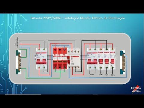 Quadro De Distribuicao Youtube Quadro De Distribuicao Como Fazer Instalacao Eletrica Instalacao Electrica