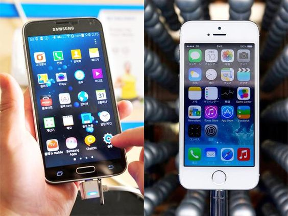Slideshow : Samsung Galaxy S5 versus iPhone 5S - Eight things Samsung Galaxy S5 can do that Apple iPhone 5S can't   The Economic Times