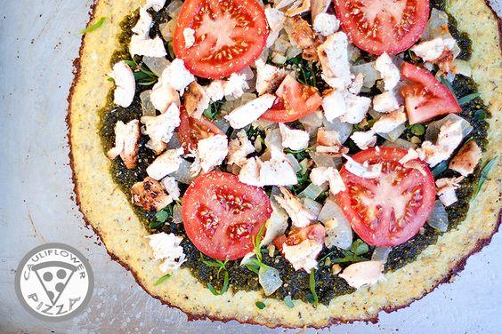 NO. 01 Cauliflower Pizza Pie