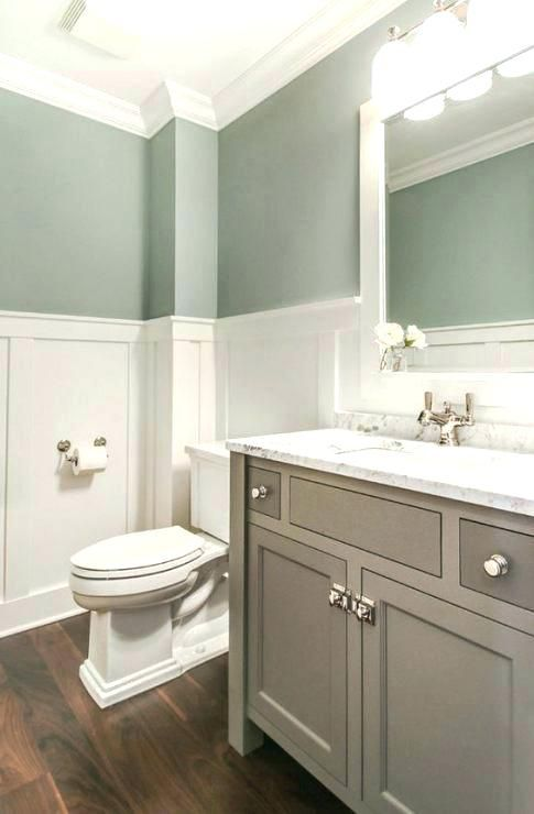 Bathroom Wainscot Bathroom Wainscoting Height Bathroom Wainscoting Ideas Bathroom Wainscoting Height Ba Tranquil Bathroom Small Bathroom Remodel Green Bathroom