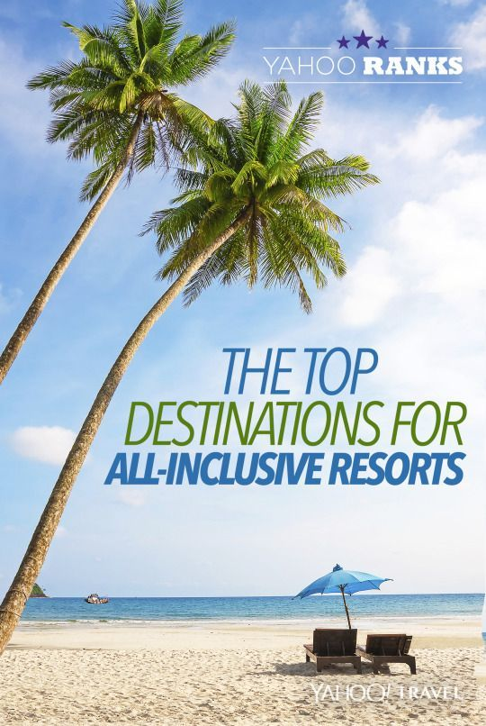 Ranks the top destinations for all inclusive resorts the for All inclusive winter vacations