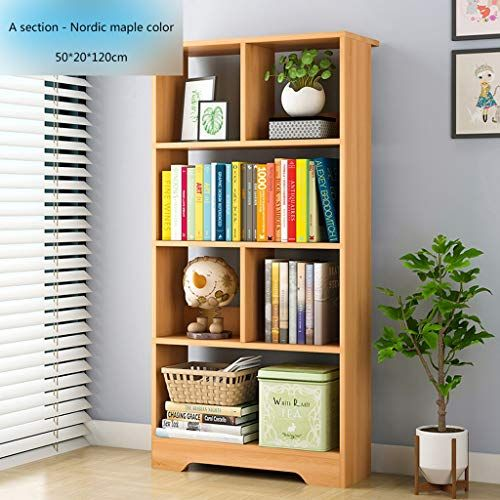 Bookcase Children S Bookshelf Bookcase Wooden Book Display Stand Storage Rack With Open Cube And Shelf M Living Room Cabinets Bookshelf Storage Wooden Bookcase