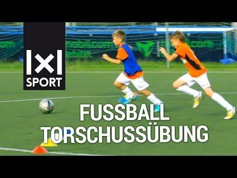Fussball Torschussubung Fur Kinder Farben Wettschiessen