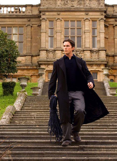 Batman Begins, Bruce Wayne, Christian Bale, Wayne Manor ... Christian Bale House