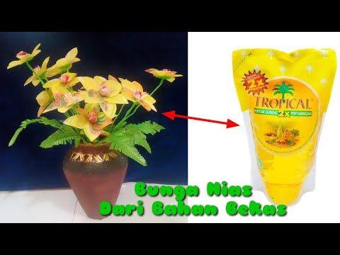Kerajinan Tangan Bunga Hias Dari Bahan Bekas Youtube