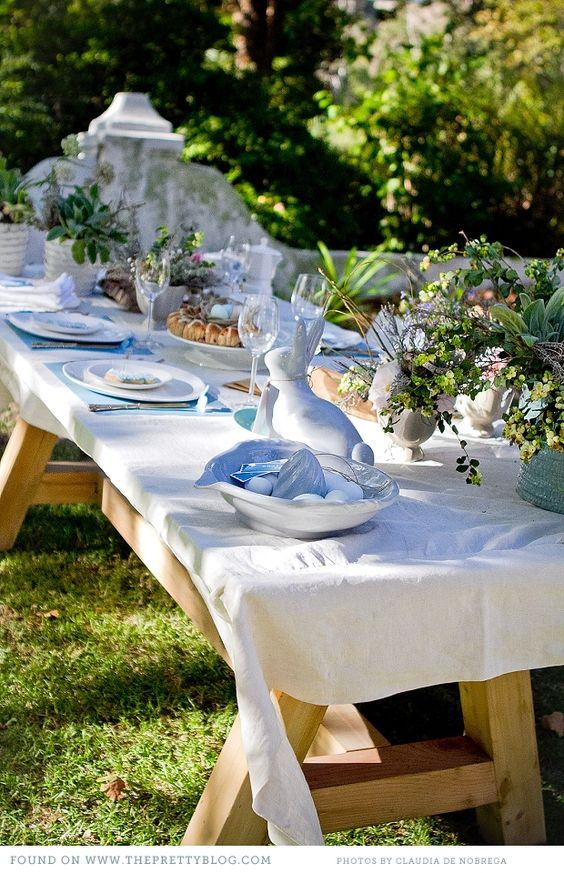 Easter Brunch in the garden ~: