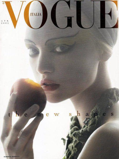 Steven Meisel  April 2005Vogue Italia.  Model: Gemma Ward.