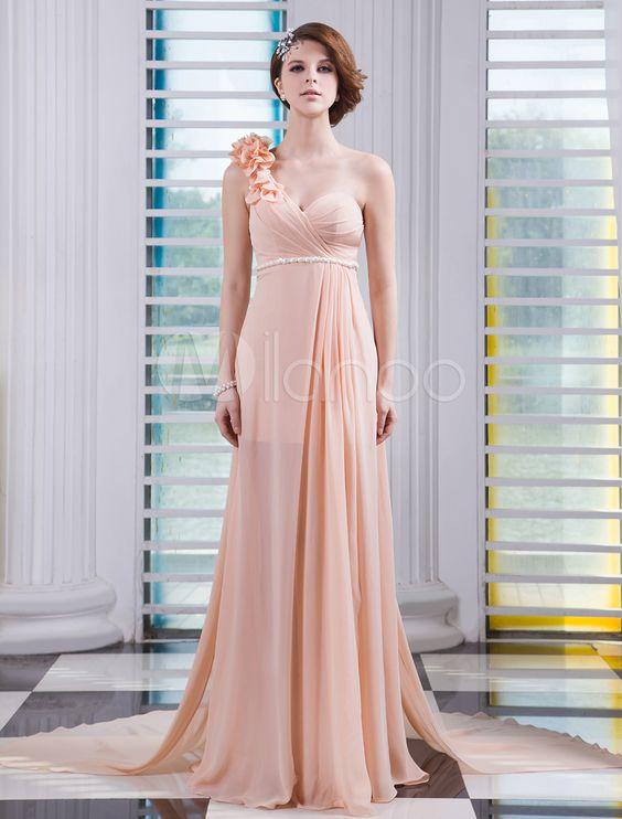 #Milanoo.com Ltd          #Evening Dresses          #Champagne #One-Shoulder #Flower #Sheath #Sleeveless #Chiffon #Evening #Dress                           Champagne One-Shoulder Flower Sheath Sleeveless Chiffon Evening Dress                                   http://www.seapai.com/product.aspx?PID=5748682
