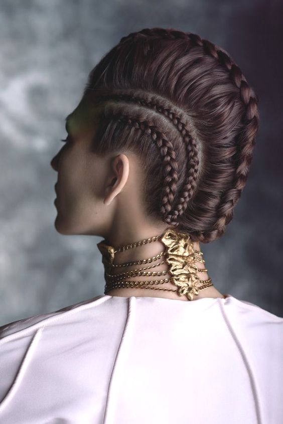 Avant-Garde Makeup 2014 | This season is all about summer braids and these avant-garde hair ...: