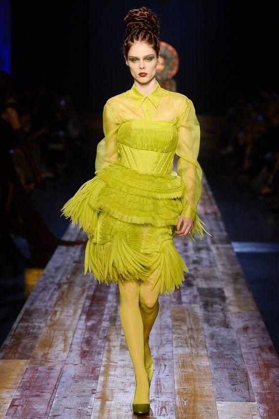 Jean Paul Gaultier Fall 2016 Couture Fashion Show - Coco Rocha