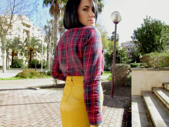 A - B - Beauty: Outfit Yellow Mustard + New hair! II