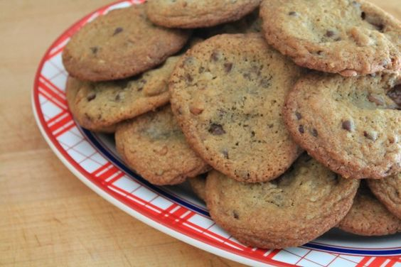 Milk Dud Studded Cookies  www.bluebonnetsandbrownies.com