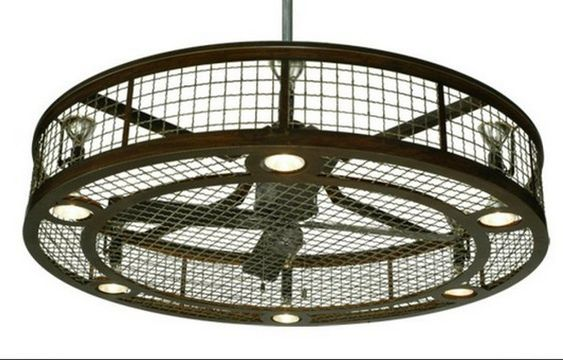 Ceiling fan lights ceilings and home decor on pinterest for Industrial lamp kit