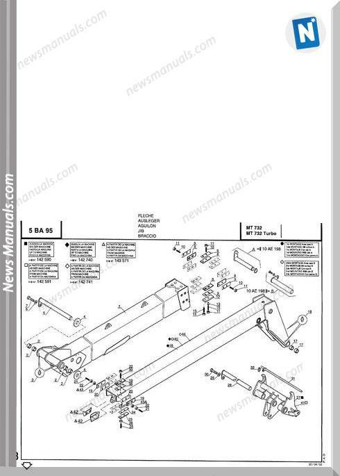 Manitou Mt732 Mt732 Turbo Parts Manuals In 2021 Turbo Parts Turbo Manitou