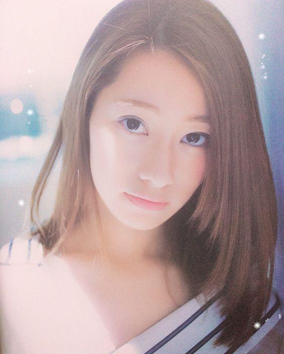 サラサラな髪の桜井玲香のかわいい画像