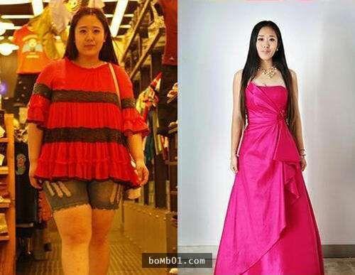 擁有「最美女胖子」美譽的這名女子在減肥成功後,差點被網友們的反應氣到暗自啜泣! - boMb01
