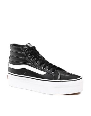 vans sk8 hi platform black and white mary