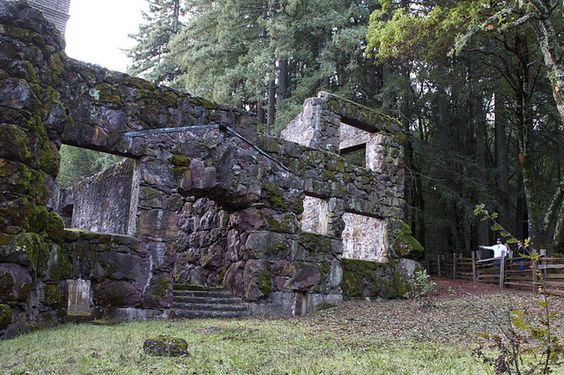 Wolf House Ruins  Jack London State Historic Park   Glen Ellen, CA                                                                                                                        Wolf House Ruins             by        David Gallagher      on  ..