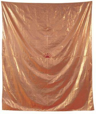 The Sun. 1990 Acrylic on textile. 280 x 270 cm Museum of Modern Art, Vienna (cat. № 202)