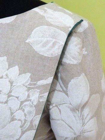 Tee-shirt pivoine. #julietdéfil #mode #femme #teeshirt #lin #pivoine #turquoise