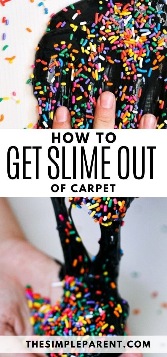 How To Remove Slime From Hair Or Carpet Learning How To Make