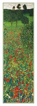 Gustav Klimt - A Field of Poppies, 1907