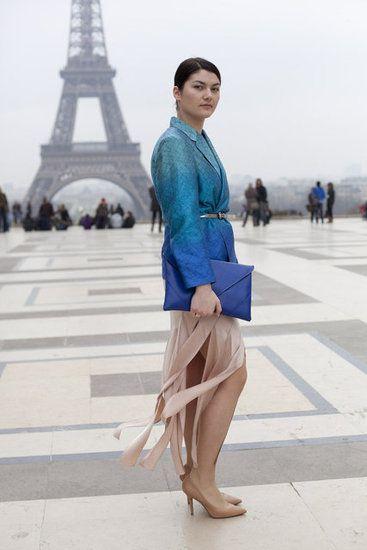 Paris Fashion Week Street Style — Fall 2012 Edition