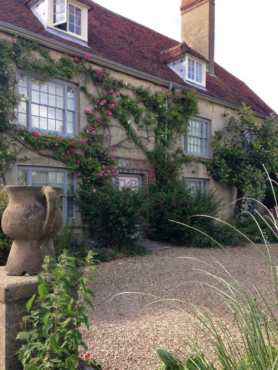 k a t h l e e n m a t s o n : Travel - Charleston in East Sussex - An Artists' Home and Garden
