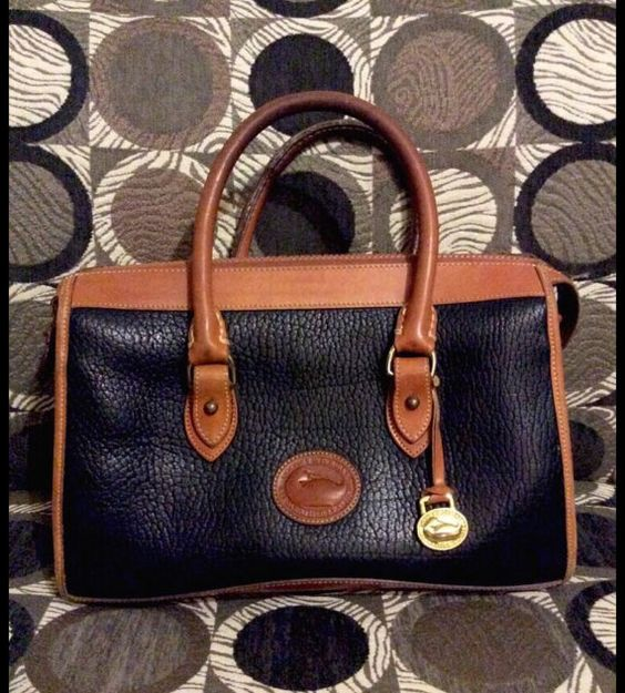 Vintage Dooney & Bourke AWL Leather Dr. Style Handbag by OffDaWall, $60.00