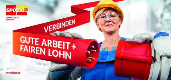 SPÖ Oberösterreich Kampagne by Super am See