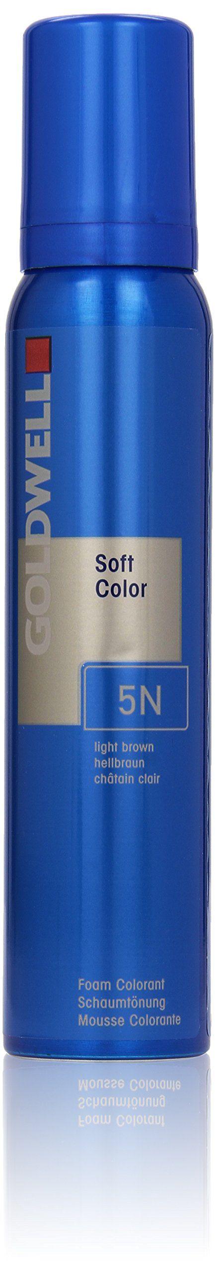 goldwell colorance soft color foam colorant 5n light brown color brown - Colorant Semi Permanent
