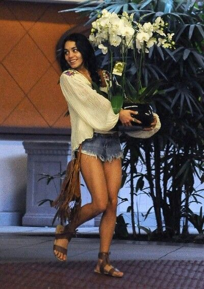 Vanessa and Stella Hudgens – Leaving a Hospital in Los Angeles