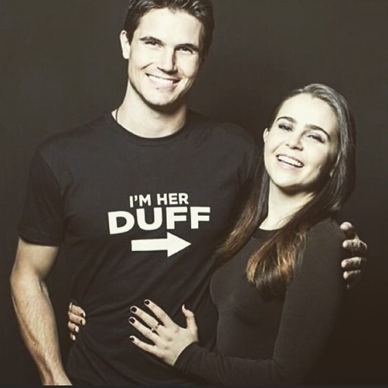 """""""@robbieamell a quick note to say thank you to this guy- my best friend and partner for all things Duff- for being such a gentleman and a scholar- but…"""""""