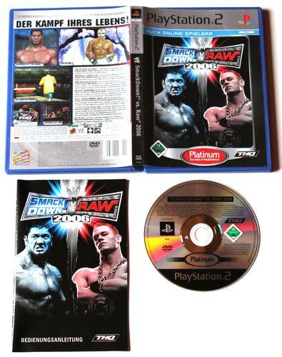 WWE SmackDown! Vs. Raw 2006 für Playstation 2 in OVP!