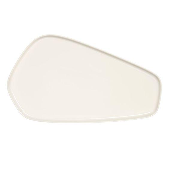 Iittala X Issey Miyake - Servierplatte 20x35 cm, weiß