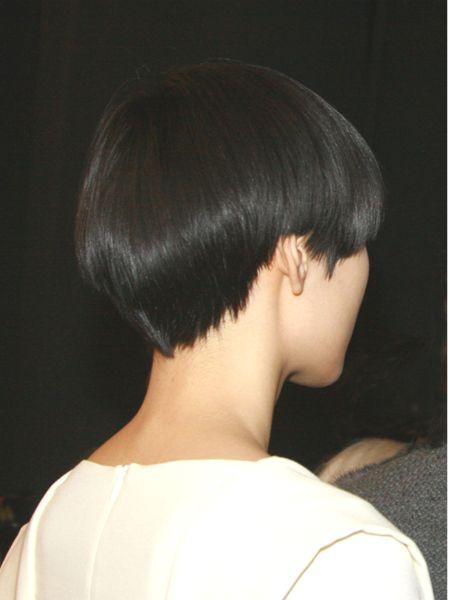 Girl Mushroom Haircut Picture Ideas With Short Blunt Bob Haircut ...
