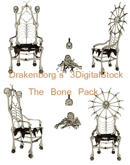 The bone pack by 3DigitalStock