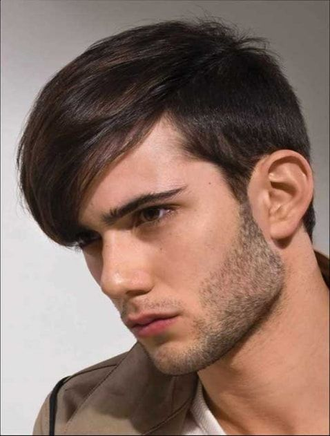 Boys Long And Simple Hair Style Hair Style Boy