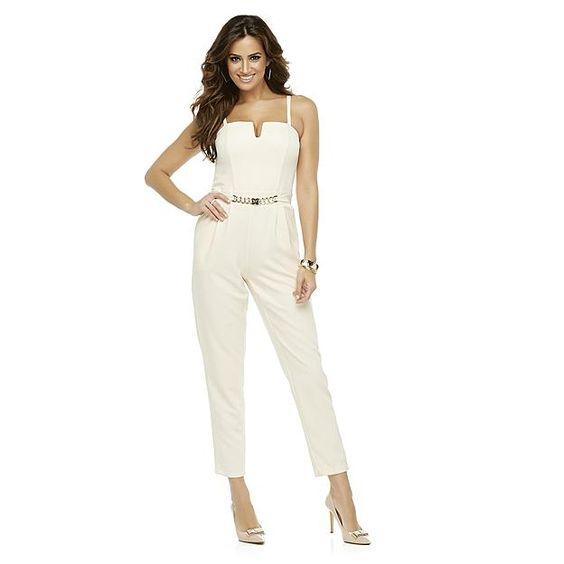 Kardashian Kollection Women's Convertible Jumpsuit