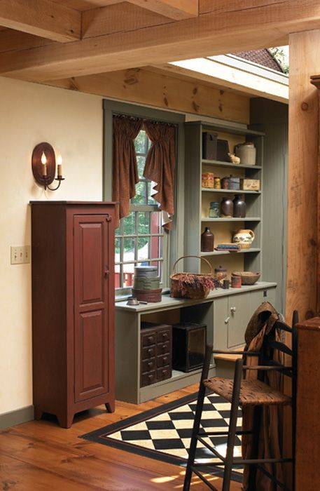 Pantry Primitive Homes Pinterest The Floor Cupboards And Cabinets